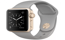 Buy Apple Watch Series 1 - 38 mm Gold Aluminium Case with Concrete Sport Band at Rs 18,900 from Flipkart