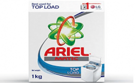 Buy Ariel Matic Top Load Detergent Washing Powder 1Kg at Rs 168 from Amazon
