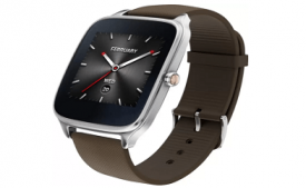 Buy Asus ZenWatch 2 Silver Case with Rubber Strap Sliver/rubber taupe Smartwatch at Rs 8,900 from Flipkart