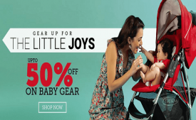 Babyoye Coupons & Offers | Enjoy Rs 2500 Off First Order App Purchase - May 2018