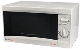 Buy Bajaj 1701 MT 17-Litre Solo Microwave Oven at Rs 3,799 from Amazon