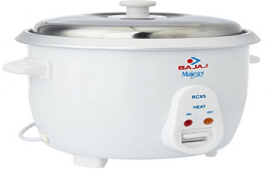 Buy Bajaj RCX 5 1.8-Litre Rice Cooker at Rs 1,349 from Amazon