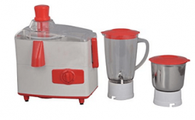 Buy Brightflame Cherry 500-Watt Juicer Mixer Grinder with 2 Jars at Rs 1,465 from Amazon