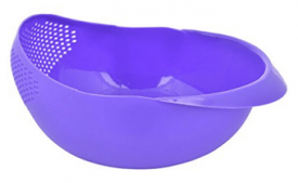 Buy Bulfyss Rice Pulses Fruits Vegetable Noodles Pasta Washing Bowl at Rs 225 from Amazon