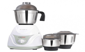 Buy BrightFlame Mixer Grinder - Jura, with 3 Jars (White) At Rs 1,750 Only from Amazon