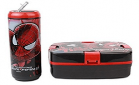 Buy Cello Spiderman Combo Plastic Lunch Box Set 2-Pieces at Rs 372 from Amazon