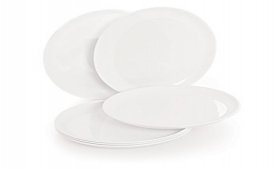 Buy Cello Ware Round Half Plate 6-Pieces at Rs 266 Only from Amazon