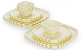 Buy Cello Ware Square Container Set, 18-Pieces, Pearl at Rs 819 from Amazon