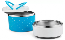 Buy Classic Essentials Ivory Containers Lunch Box (930 ml) at Rs 399 from Flipkart