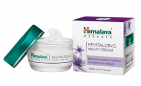 Buy Himalaya Herbals Revitalizing Night Cream at Rs 160 from Amazon