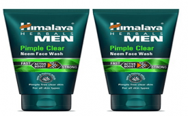 Buy Himalaya Men Pimple Clear Neem Face Wash, 50ml at Rs 40 from Amazon