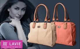 Buy Lavie Hand Bags Upto 80% OFF @ Flipkart