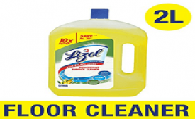 Buy Lizol Disinfectant Surface Cleaner Jasmine 2L just at Rs 274 from Amazon