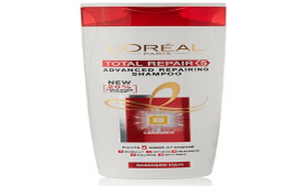 Buy L'Oreal Paris Total Repair 5 Advanced Repairing Shampoo 360ml at Rs 165 Amazon