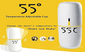 Buy Original 55 Degree Magic Cup Vacuum Flask Thermostatic Cup Bottle 280ml at Rs 699 from Amazon