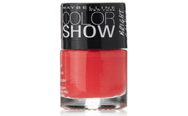 Buy Maybelline Color Show Bright Sparks Flash of Coral 6ml at Rs 110 from Amazon