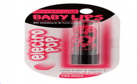 Buy Maybelline New York Baby Lips Electro, Firece N Tangy, 3.5g from Amazon at Rs 93 Only