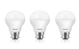 Buy Philips 7 W Standard B22 LED Bulb  (White, Pack of 2) from Flipkart at Rs 199 Only