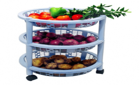 Buy Princeware Maria 3 Rack Big Trolley from Amazon at Rs 269 Only