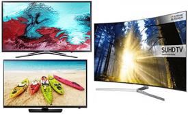 Buy Samsung 108 cm (43 Inches) Super 6 Series 4K UHD LED Smart TV (2019 model) at Rs 33,990 only (after cashback)