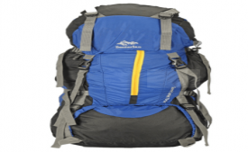 Buy Senterlan Blue Hiking Rucksack from Snapdeal at Rs 1,052 Only