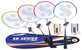 Buy Silver's SB-770 COMBO3 Badminton Kit from Amazon at Rs 699 Only