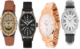Buy Timex Wrist Watches from Flipkart Upto 75% Off Starting at Rs 439