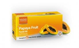 Buy VLCC Papaya Fruit Facial Kit, 60gm at Rs 138 from Amazon