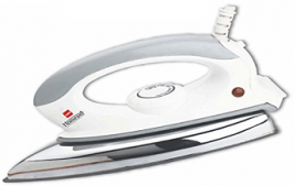 Buy Cello Plug N Press 300 750-Watt Iron (White/Grey) at Rs 299 from Amazon