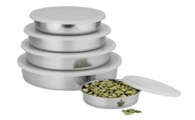 Buy Classic Essentials 5 Pcs Stainless Steel Cereal Bowl at Rs 349 from Amazon