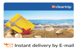 Buy Cleartrip E-Gift Card Rs 2,000 at Rs 1,700 Only from Snapdeal, Flipkart