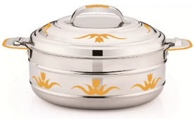 Buy Coconut Miroir Gold 10000 ML Casserole at Rs 1,999 from Flipkart