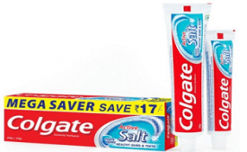 Buy Colgate Toothpaste Active Salt 300 g at Rs 103 from Amazon
