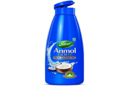 Buy Dabur Anmol Gold Pure Coconut Oil, 500ml at Rs 99 from Amazon