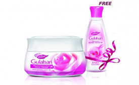 Buy Dabur Gulabari Cold Cream, 55ml with Free Gulabari Rose water, 59ml at Rs 75 Amazon