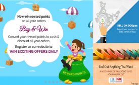DCGPAC Coupons & Offers: Get 30% OFF on Packaging & Shipping September 2017