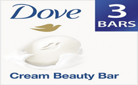 Buy Dove Cream Beauty Bathing Bar 3 X 100g at Rs 144 from Amazon