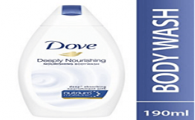 Buy Dove Deeply Nourishing Body Wash, 190 ml at Rs 99 from Amazon