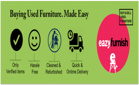 EazyFurnish Coupons Offers - Get Upto 70% Off On New Furniture - May 2018