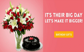 Ferns N Petals Coupons & Offers: Flat Rs 150 OFF +  10% off on Birthday gifts August 2017