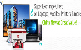 Flipkart Electronics Exchange Days Offers on Mobile, laptops & More