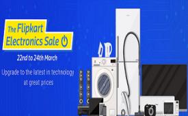 Flipkart Electronics Sale 22nd-24th March 2017 : Upto 100% Off on Appliances