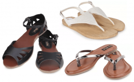Flipkart women's Flats Offers- Upto 70% OFF on Do-bhai Women's Flats Starting at Rs 149