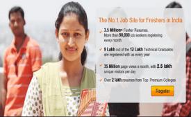 Freshersworld Coupons & Offers: Register and Get Rs 50 Cashback September 2017