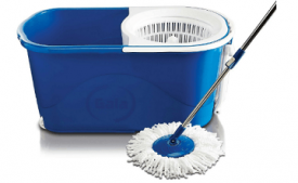 Buy Gala Spin mop with easy wheels and bucket for cleaning at Rs 1,199 from Amazon