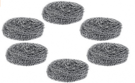Buy Gala Steel Scrubber Combo Set (Pack of 6) at Rs 119 from Amazon