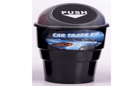 Buy Generic Mini Car Trash Bin at Rs 214 from Amazon