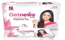 Buy Neclife Getnews One Step Home Pregnancy Test Pack of 5 tests at Rs 124 on Amazon