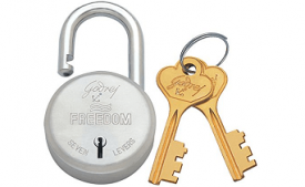 Buy Godrej Locks Freedom 7 Levers - 3 Keys at Rs 275 from Amazon