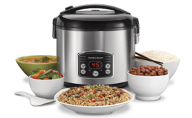 Buy Hamilton Beach 37541-IN 700-Watt Rice cooker and steamer at Rs 2,202 from Amazon